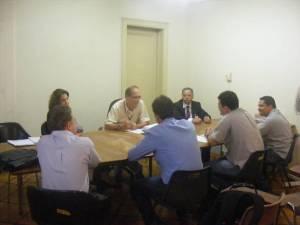Reunião da Comissão de Licitação sobre as obras no Mineirão
